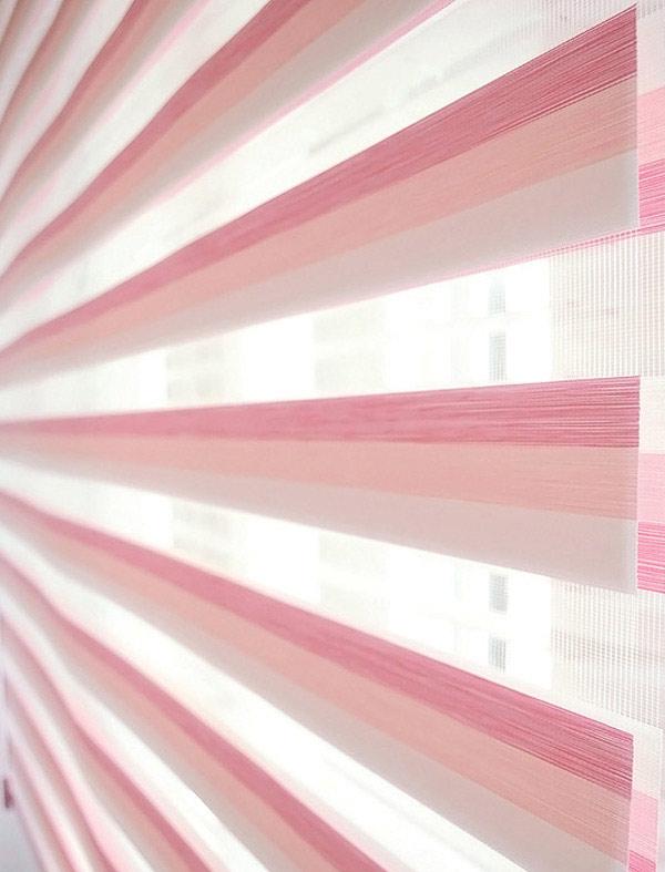 트리니티 콤비블라인드 - 핑크디자인누비