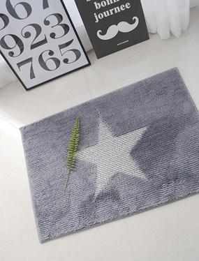 뉴스타 발매트-그레이 (2size)디자인누비