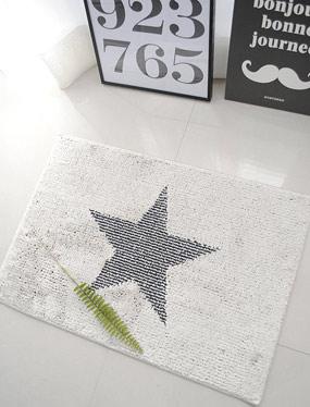 뉴스타 발매트-아이보리 (2size)디자인누비