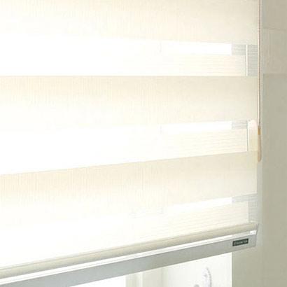 유로피언 콤비블라인드-아이보리디자인누비